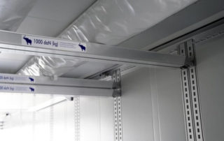 Kühlkoffer mit Doppelstockbeladung